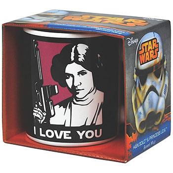 Mug Han Solo et Leia Star Wars