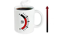 Mug réservoir d`essence