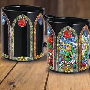 Mug Link The Legend of Zelda Thermo-réactif